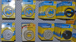 Curly cords for telephones in many sizes and colours at Cables Plus
